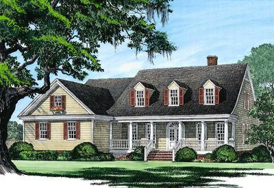 Charming Country Home Plan - 32436WP thumb - 03