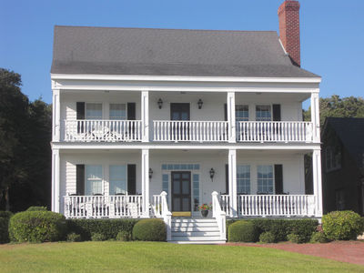 Southern Home Plan with Stacked Porches 32460WP Architectural