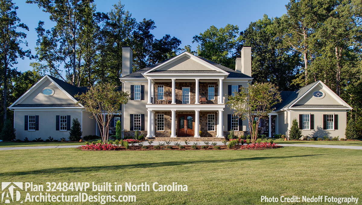 House plan 32484wp comes to life in north carolina for Passarelli custom homes