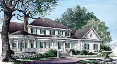 Elegant Country Home Plan - 32485WP thumb - 19