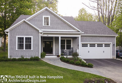 Shingle Style House Plan With Open Layout 19604jf Architectural