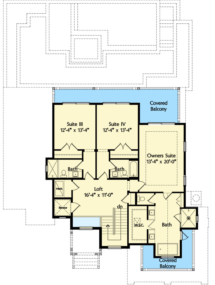 Decorating Small Open Floor Plan Living Room And Kitchen: Two Owner's Suites And A Wide Open Floor Plan