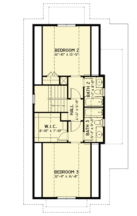 Three bedroom northwest house plan 28904jj for Northwest home plans
