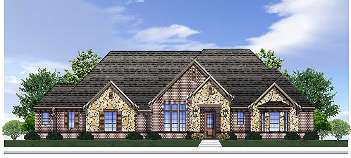 Spacious traditional house plan 100016shr for Traditional neighborhood design house plans