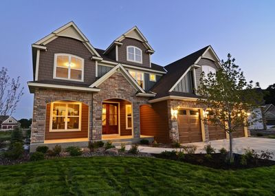Exclusive Storybook Craftsman House Plan with Optional Lower Level ...