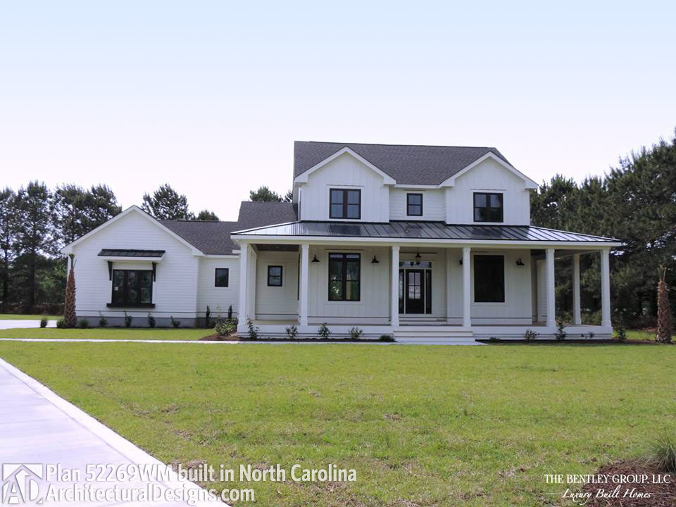 Modern Farmhouse Plan 52269WM Comes To Life In North Carolina