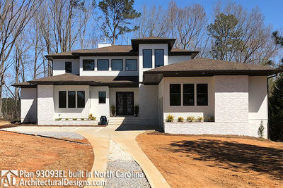 House Plan 93093EL comes to life in North Carolina - photo 001