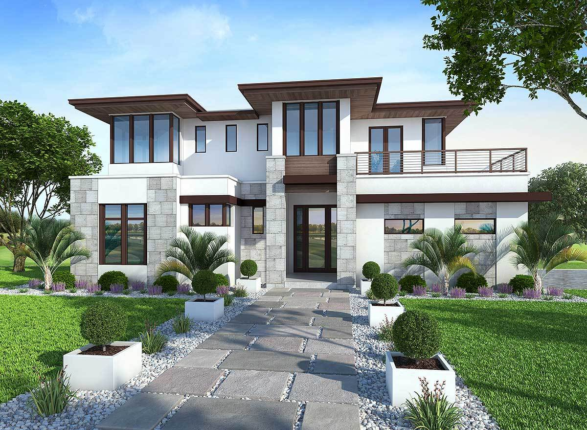 Spacious Upscale Contemporary With Multiple Second Floor