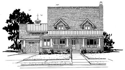 Country House Plan with Lots of Pluses - 12944KN thumb - 05