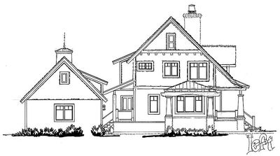 Country House Plan with Lots of Pluses - 12944KN thumb - 08