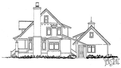 Country House Plan with Lots of Pluses - 12944KN thumb - 07