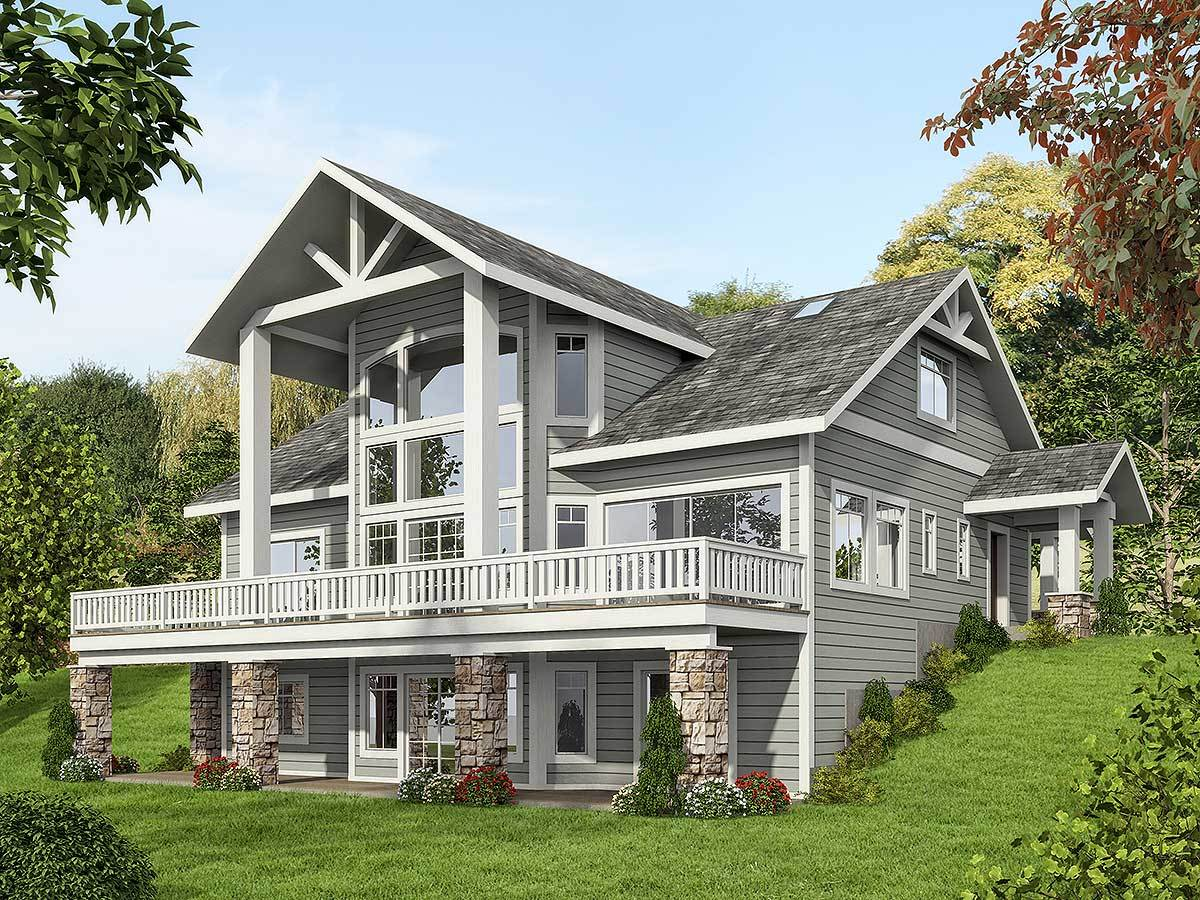 Architectural designs for Mountain house plans