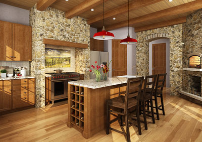 Northwest House Plan with Rustic Touches - 12946KN thumb - 02