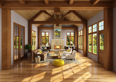Northwest House Plan with Rustic Touches - 12946KN thumb - 03