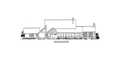 Northwest House Plan with Rustic Touches - 12946KN thumb - 05