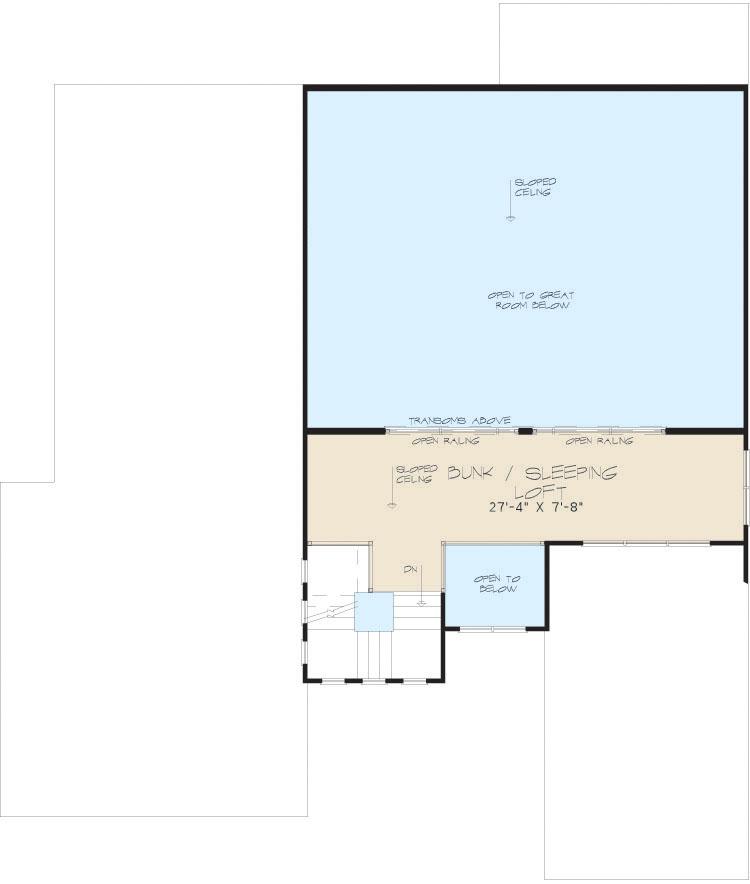 3 Bed Modern With Upstairs Sleeping Loft 70522mk