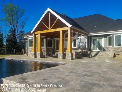 House Plan 23648JD comes to life in South Carolina - photo 005