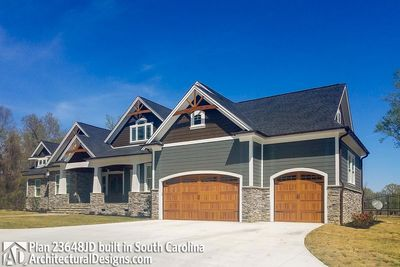 House Plan 23648JD comes to life in South Carolina - photo 003