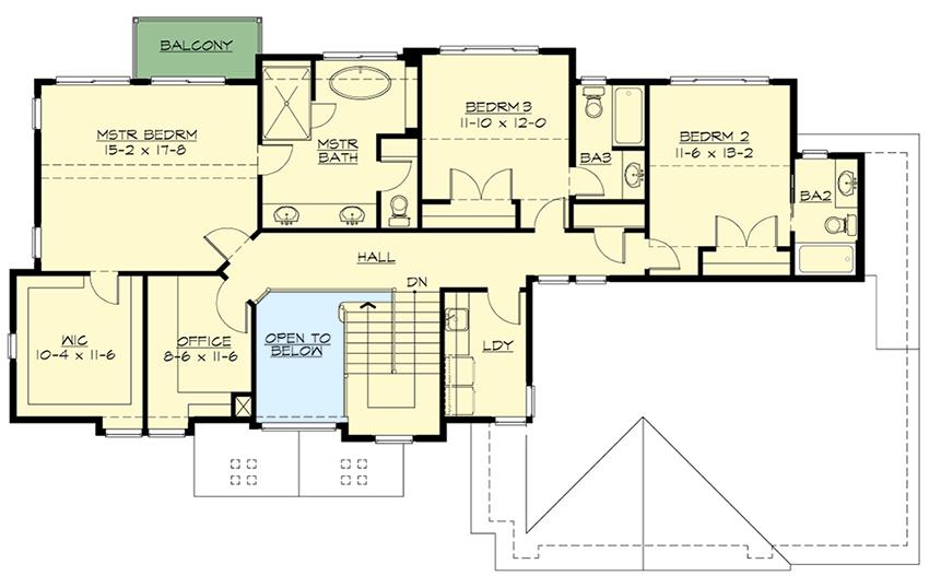 Northwest contemporary blend 23655jd architectural for Northwest floor plans