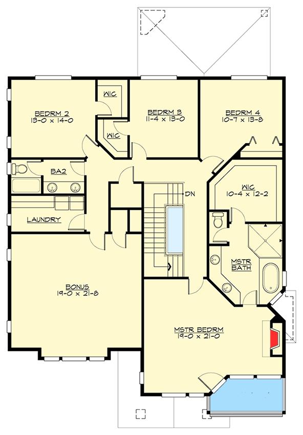 Open layout northwest house plan 23662jd architectural for Northwest floor plans