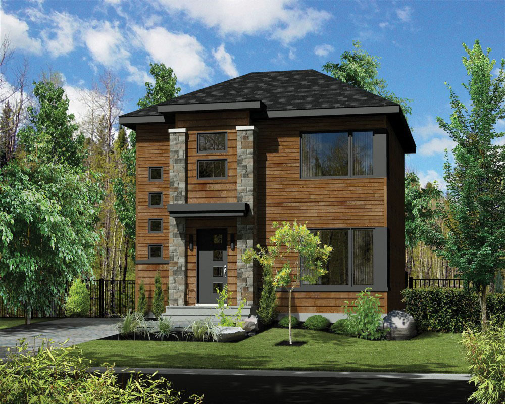 Compact northwest house plan 80881pm architectural for Northwest house plans home designs