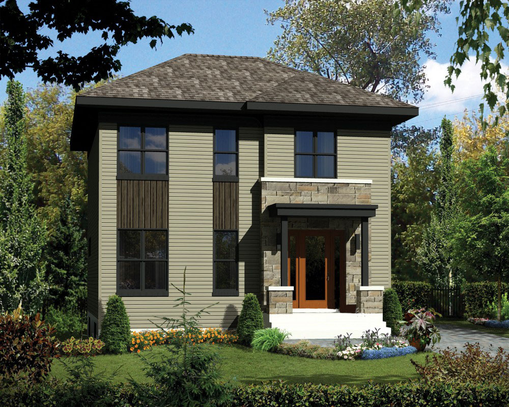 Two story northwest house plan 80887pm architectural for Nw home design