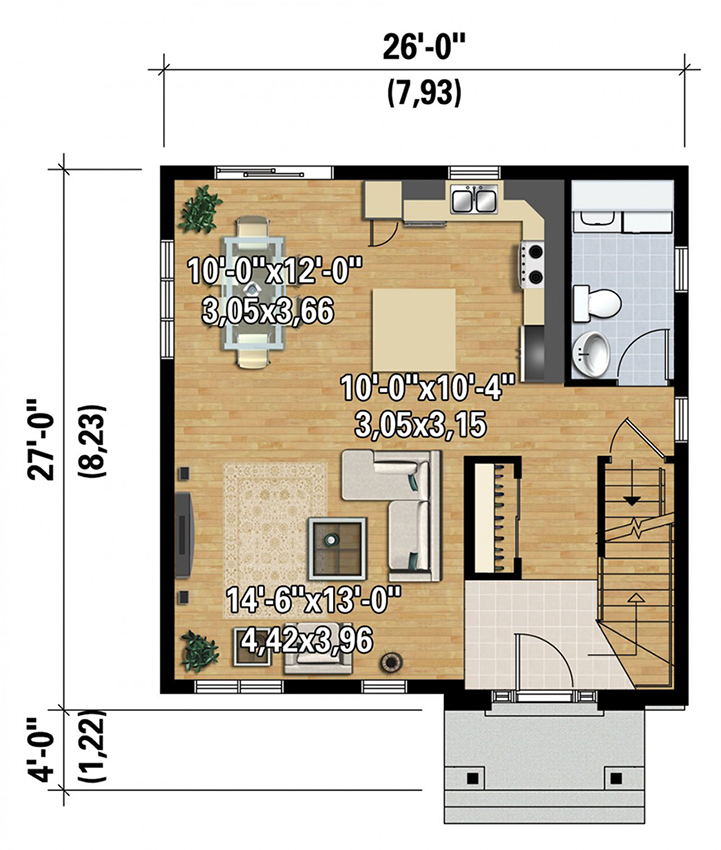 Two story northwest house plan 80887pm architectural for Northwest floor plans