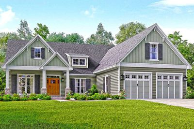 Well-Appointed Craftsman House Plan - 51738HZ thumb - 01