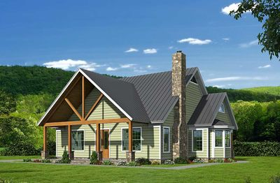 Three Master Suites - 68440VR | Architectural Designs - House Plans