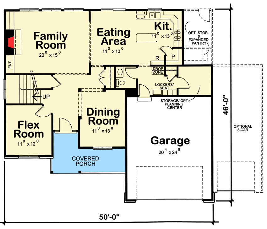 4 bed house plan with laundry upstairs 42384db 2nd for Upstairs house plans