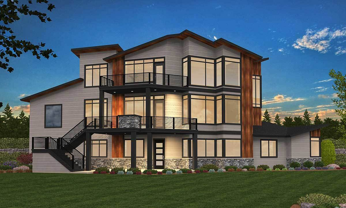 Exciting Exclusive 6 Bed Modern House Plan