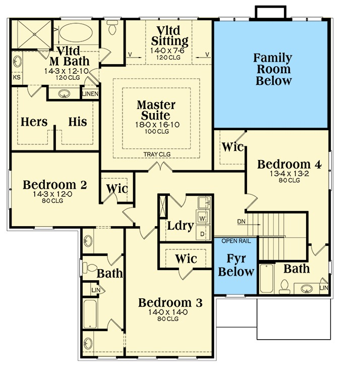 A Walk In Closet For Every Bedroom 75595gb 2nd Floor
