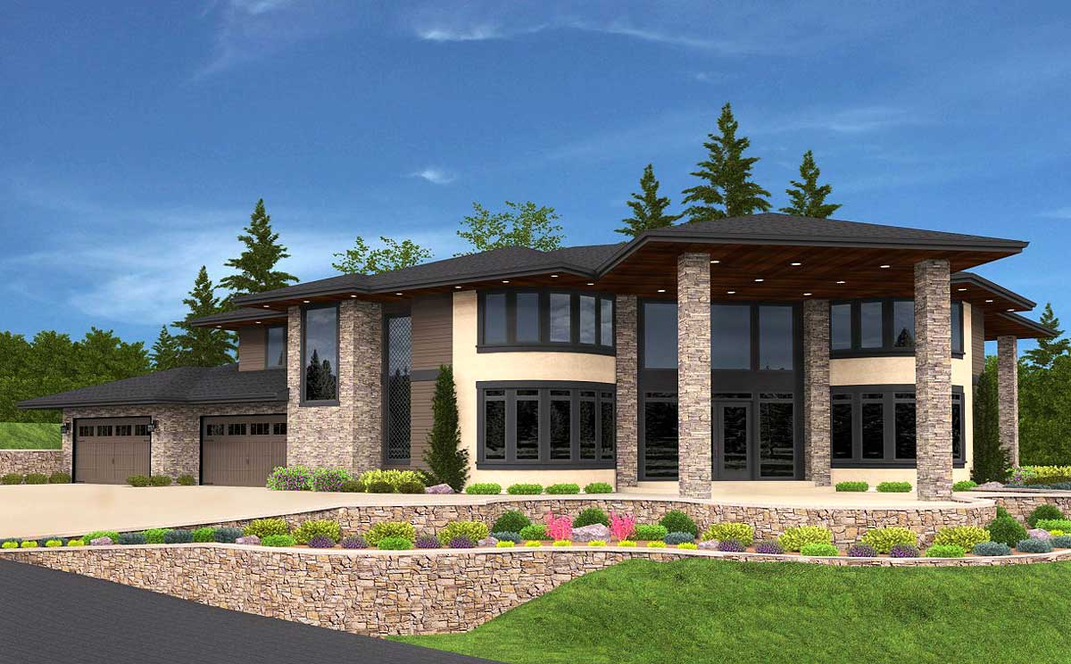 Splendid and exclusive northwest house plan 85142ms for Nw home design
