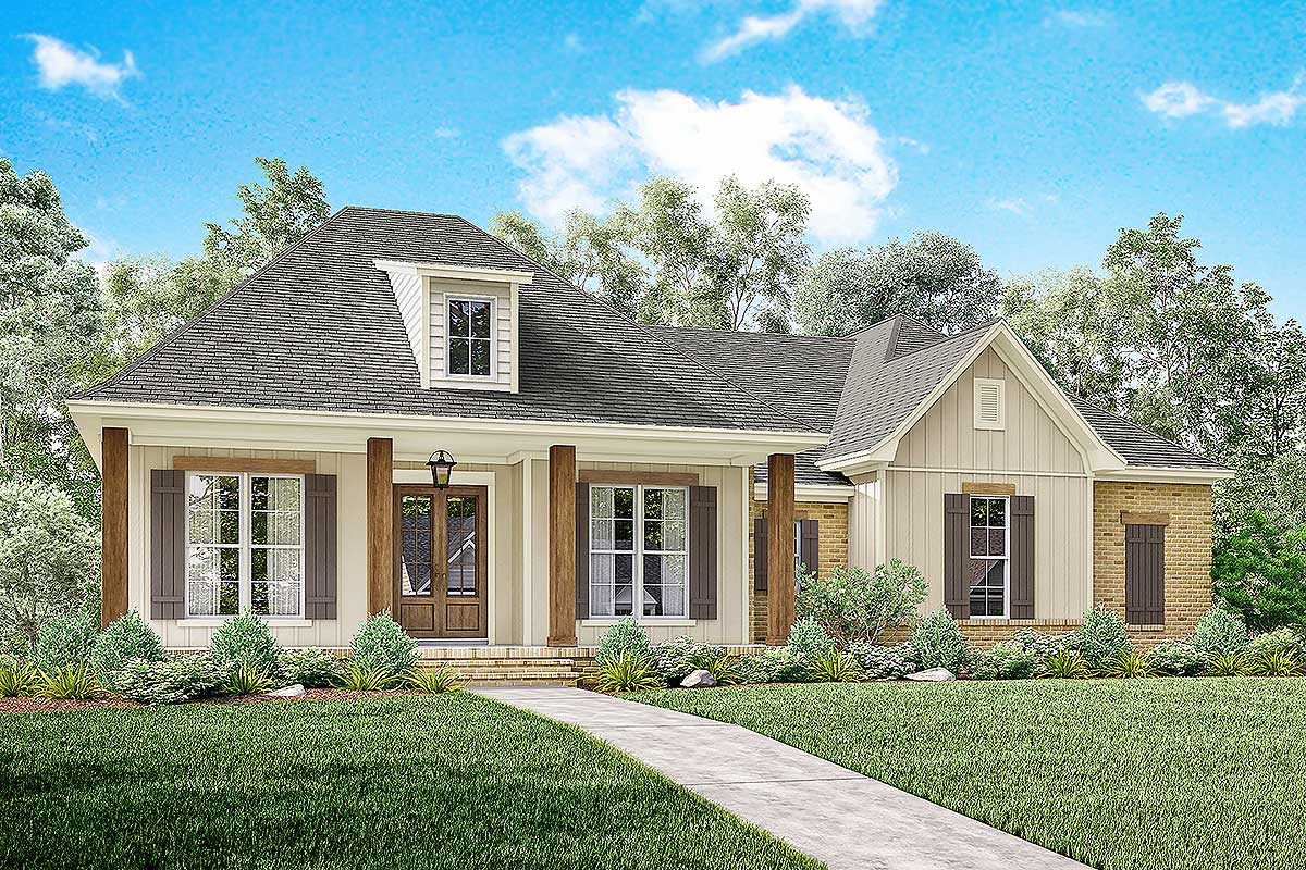 Architectural designs for Acadian home plans
