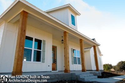 House Plan 51742HZ comes to life in Texas - photo 003