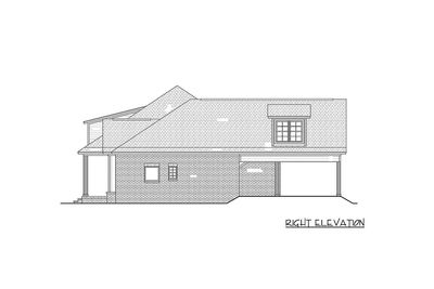 3 Bed Acadian Home Plan with Bonus Over Garage HZ