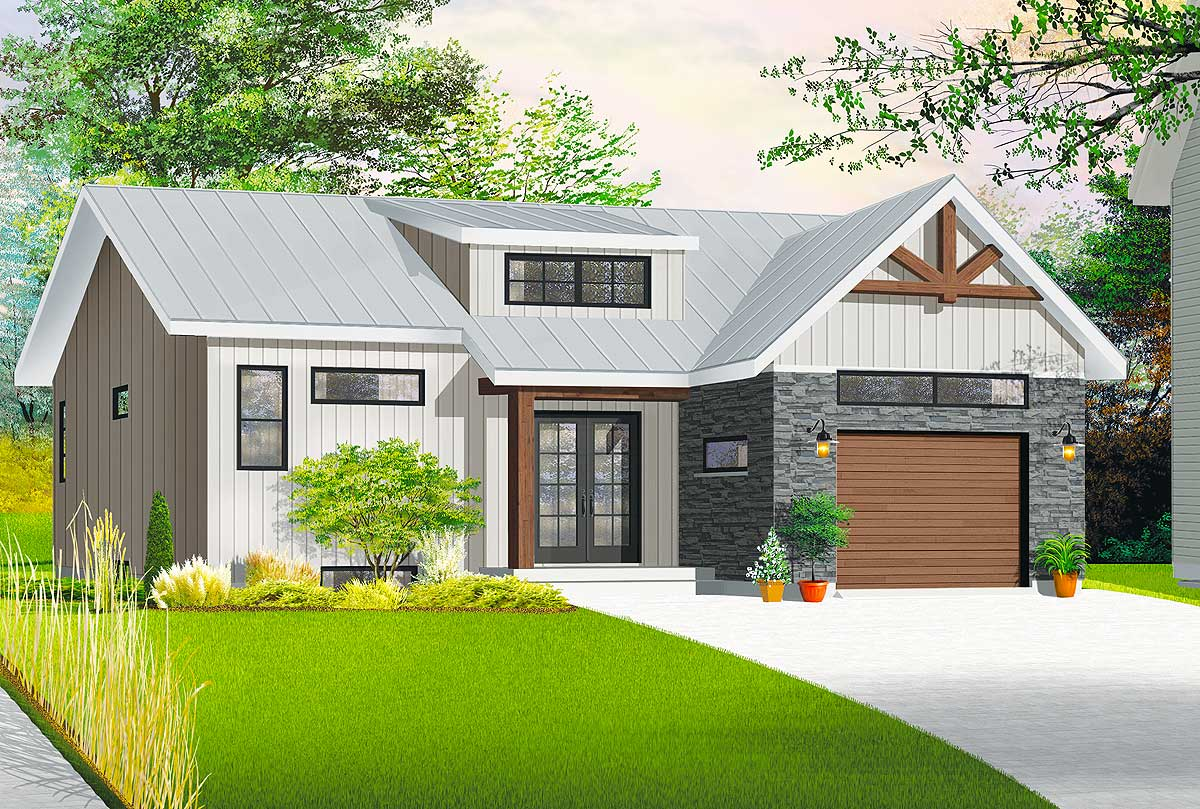Charming northwest house plan 22450dr architectural for Northwest house designs