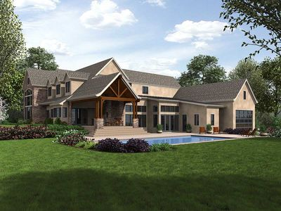 European House Plan with Top Notch Amenities - 69632AM thumb - 89