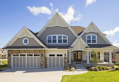 Exclusive Storybook Craftsman with Sports Court-Plus Lower Level ...