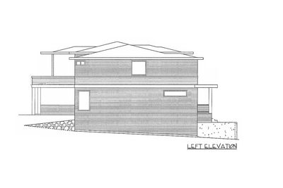 Modern Home Plan with 2 Master Suites - 85148MS thumb - 03