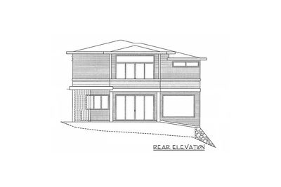Modern Home Plan with 2 Master Suites - 85148MS thumb - 02