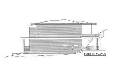 Modern Home Plan with 2 Master Suites - 85148MS thumb - 04