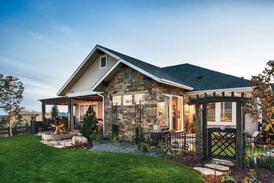 2 Bedroom House Plan with Outdoor Living in Back - 95024RW ...