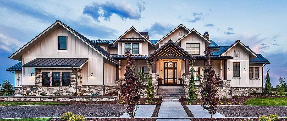 Mountain house plans architectural designs for Colorado mountain home plans
