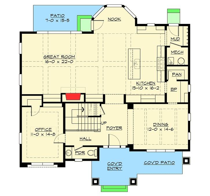 Floor Plan. Architectural Designs
