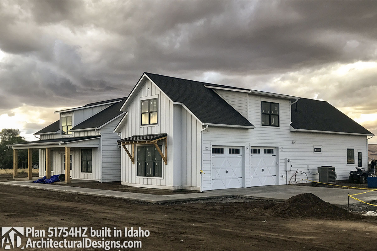 House Plan 51754HZ comes to life in