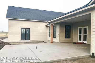 House Plan 51754HZ comes to life in Idaho! - photo 033
