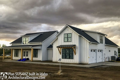 House Plan 51754HZ comes to life in Idaho! - photo 002