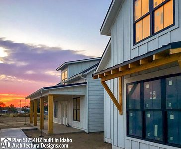 House Plan 51754HZ comes to life in Idaho! - photo 003