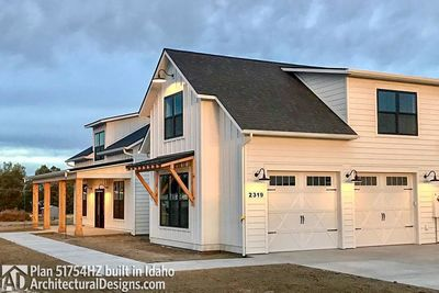 House Plan 51754HZ comes to life in Idaho! - photo 004